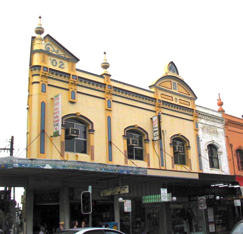 Church St corner